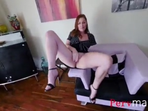 Slut MOM Takes Down SON's cock Sovereign Syre