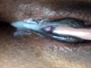 wet black pussy cums on snapchat