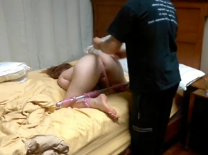 Cute Teen Breathplay Bondage