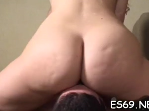 Inviting gal coitus in porno
