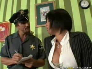 Tory Lane busted by cop