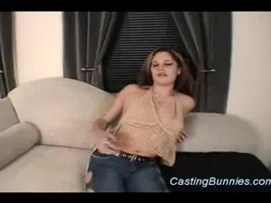 Bunny fucked at the casting