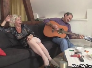 Maria did her boyfriend's parents  part 1 View more videos on befucker.com