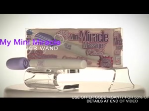 REVIEW: Mini Miracle Massager Wand | FOR 50% Offer Source Coupon Code MOAN77 Ada