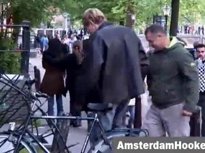 Tourist sucked by hooker in amsterdam
