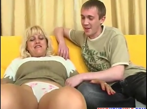 Stepmom and young guy