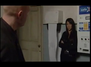 Eastenders: Stacey &amp Max Getting Sexy &amp Snogging In The Toilets