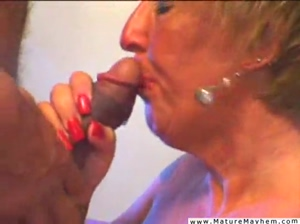 Old bitch ass to mouth