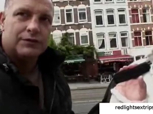 Real hooker from Amsterdam Red Light District  redlightsextrips.org
