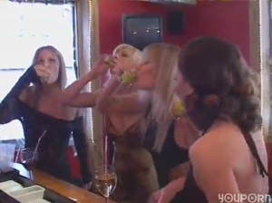 YouPorn  Girls night out gets freaky