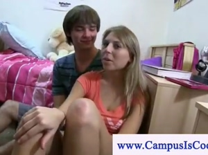 College girls teasing the cameraman