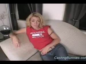 Casting this hot bunny fucking