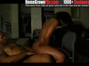 Fine ass chick riding dick  HomeGrownFLIX.com  homemade ebony amateur