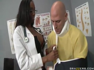 milfsonly.blogspotBlack Doctor Gets Her Bubble Butt Popped By A Big Cock