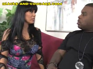 Black Seduced by Cougar