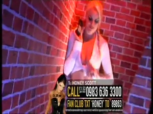 Honey Scott with Ani James UK TV phone sex babes TVX Part 4