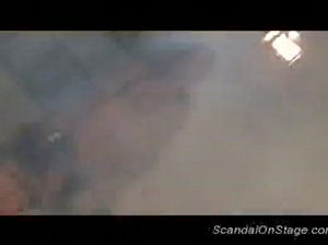 Scandal on stage hard orgy sex