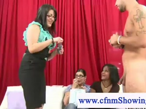 Cfnm search for a big cock and hold cock auditions