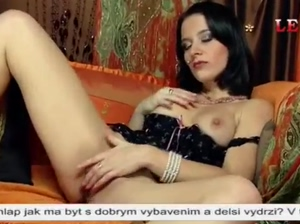 Czech phonesex brunette slut