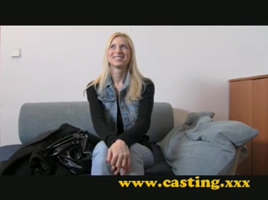 Casting  Big boobed Milf didn't expect anal