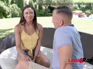Husband shares horny wife Cassie Del Isla with Frenchman for BDSM action GP894