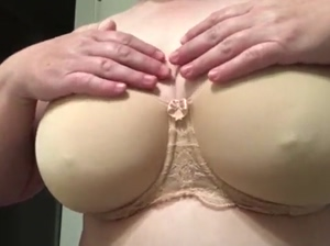 My Natural Breasts Pinched for Pleasure