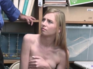 Security lets her go at one condition Ava Parker